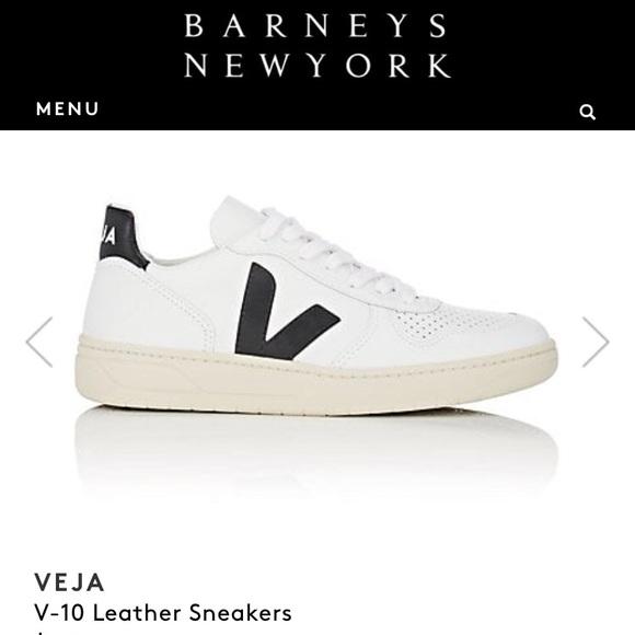 Veja Shoes   White And Black Vejas Sz